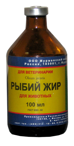Витамины для щенков Rybii_zhir